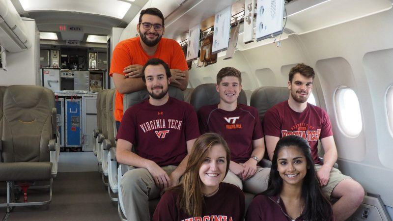 Hokies in Hamburg – Virginia Tech students at Zero G