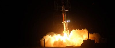 Rock-Sat-X rocket launches at NASA Wallops Flight Facility
