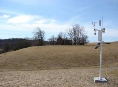 Photo of KEAS Lab Weather Station