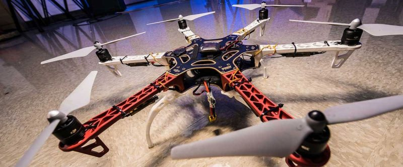 An image of a quadcopter