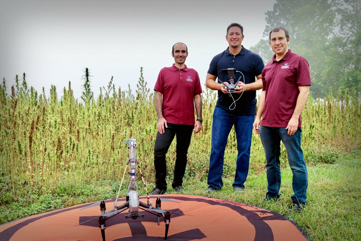 Researchers are using drones to uncover how spread of pollen may affect issues like allergies and cross contamination of crop varieties.