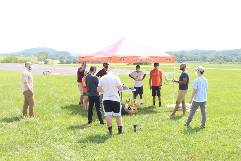 Virginia Tech's site in the Center for Unmanned Aircraft Systems makes a lasting impact on a rising industry